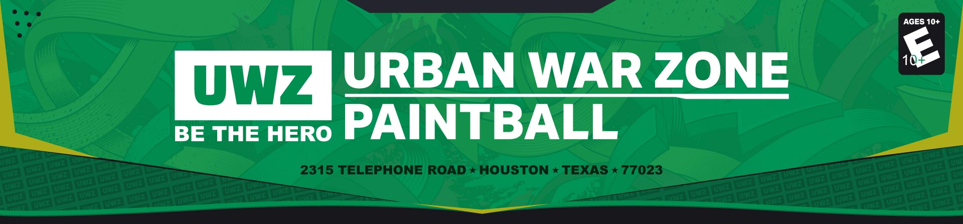 Urban War Zone Logo