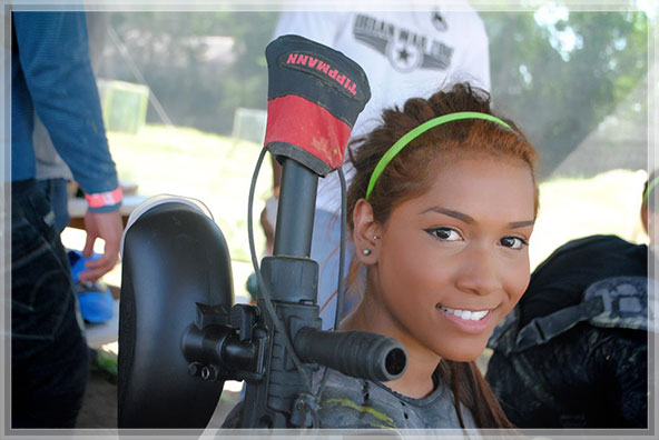 Urban War Zone Paintball in Houston, Tx is a great place for birthday parties!